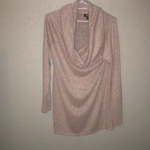a.n.a Cowl neck long sleeve sweater size small